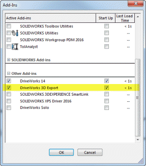 How To: Create a Drive3D File (KB17031501) (DriveWorks