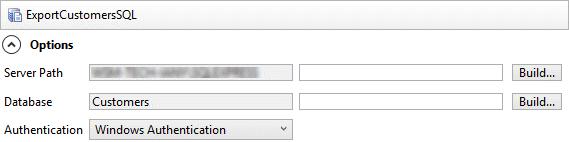 SQL Server Data Export (DriveWorks Documentation)