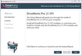 Installation (DriveWorks Documentation)