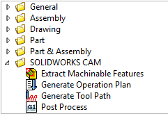 SOLIDWORKS CAM PowerPack (DriveWorks Documentation)