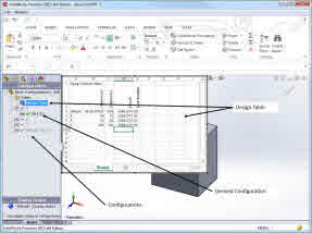 Design tables configurations and derived configurations for Design table not working solidworks
